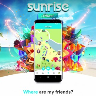 Never lose your friends again at #SunriseFestival!
